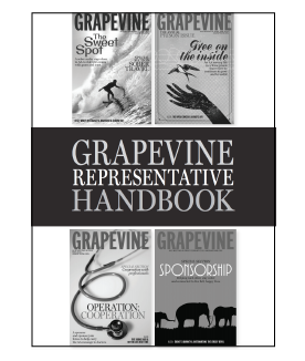 AA Grapevine Handbook Cover
