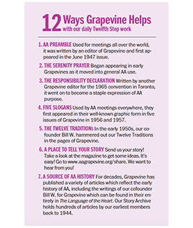12 Ways Grapevine Helps icon