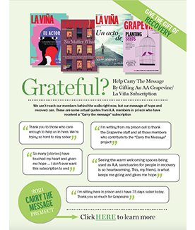 Flyer Give The Gift Of Recovery (English)